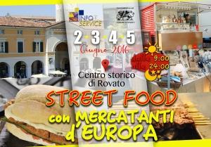 Locandina Street Food 2 3 4 5 giugno ROVATO