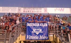 """Calcio: il Brescia stende il Frosinone. Cronaca e pagelle del club """"Vittorio Mero""""."""
