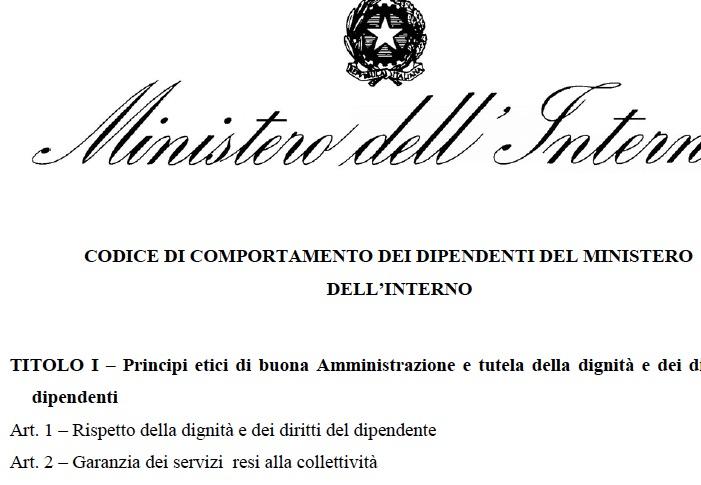 Viminale e prefettura gli assessori esterni di rovato for I ministero interno