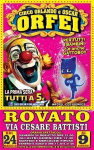 circo rovato orlando oscar orfei clown
