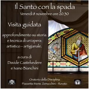rovato il Santo con la spada Davide Castelvedere e Ivano Bianchini