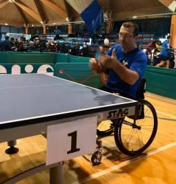 rovato disabili sport tennis tavolo